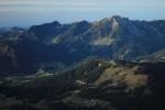 babí léto v Alpách